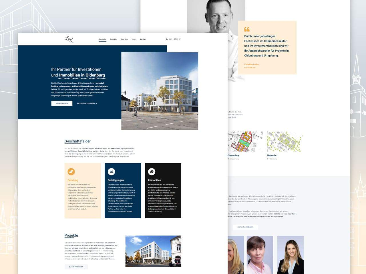 Referenz Webdesign LKSW