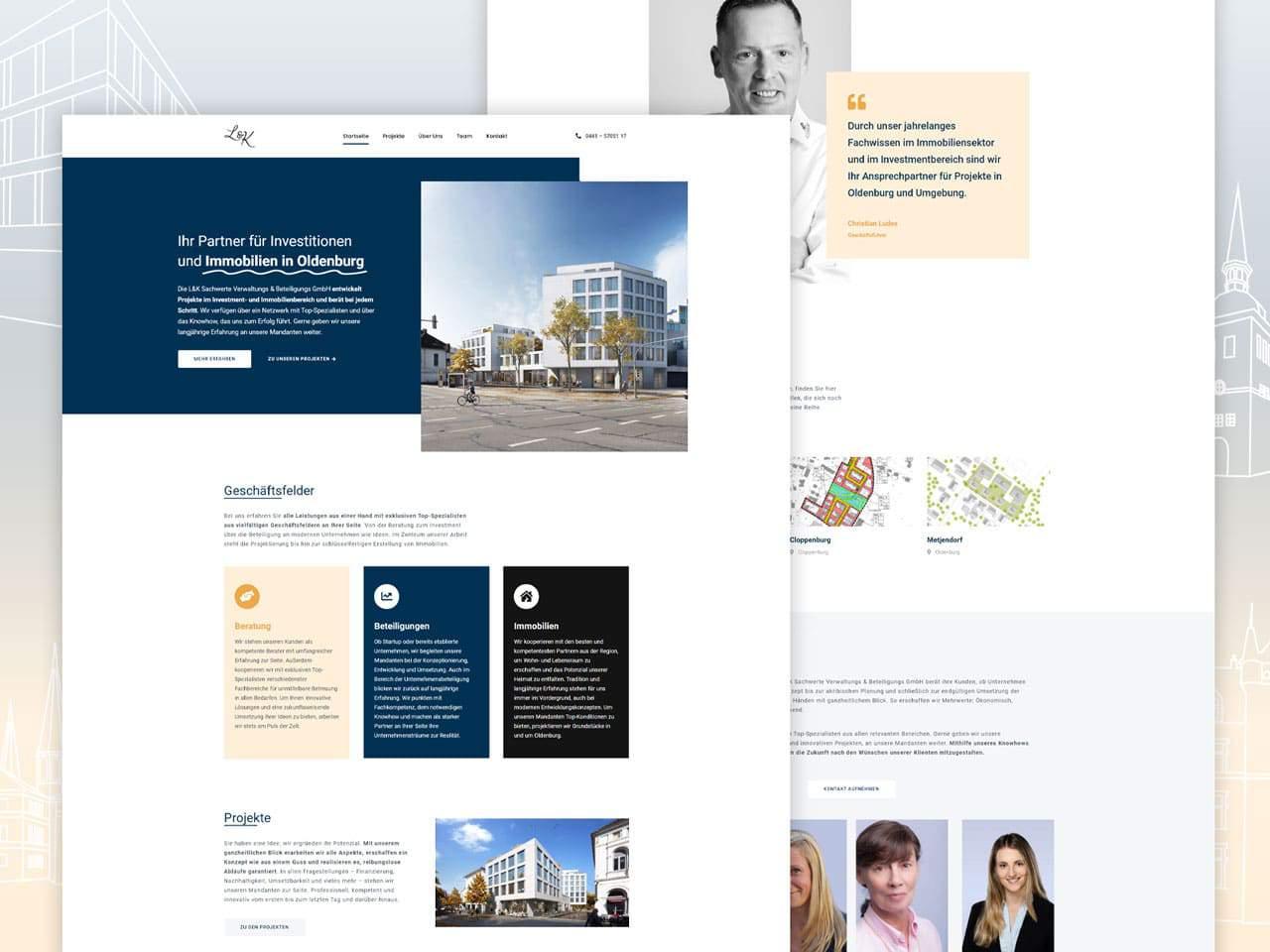 Referenz Webdesign LKSW